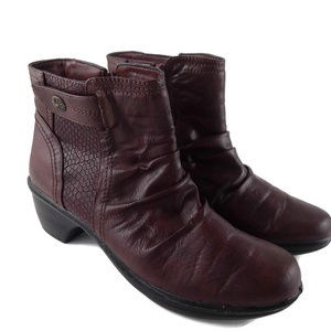Easy Spirit Ruched Style Ankle Boots Size 7.5